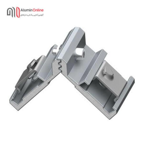 فیکسر آلومینیومی دکمه فلزی 9.7 آلاکس