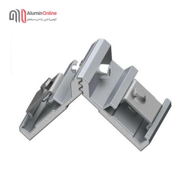فیکسر آلومینیومی دکمه فلزی 9.7-1