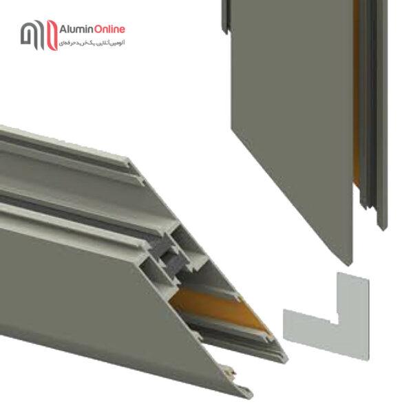 گونیای فلزی و پلاستیکی پهنMM55(14.5) وMM77(14) عک